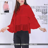 Red Valention Deluxe Top