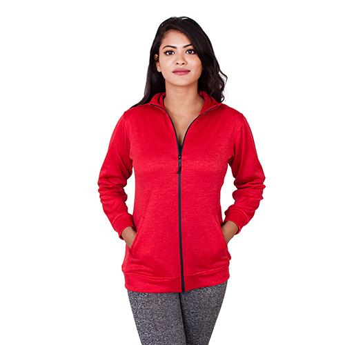 Red Women Winter Jacket