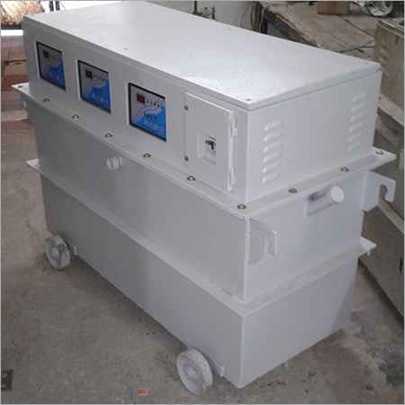 3-Phase  Servo  Voltage Stabilizer (Oil Cooled)