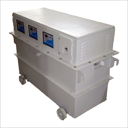 3-Phase Servo Voltage  Stabilizer  Oil Cooled