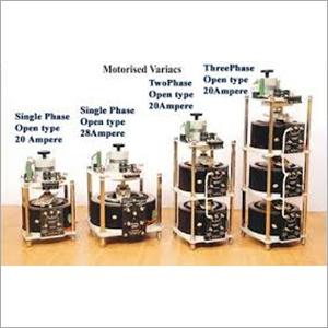 Motorised  Single Phase & 3-Phase Variacs