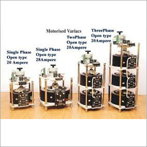 Motorised  Single Phase & 3-Phase Variacs