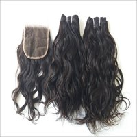 Temple Wavy Indian Human Hair