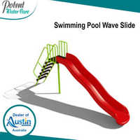 Swimming Pool Wave Slide