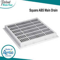 Square ABS Main Drain