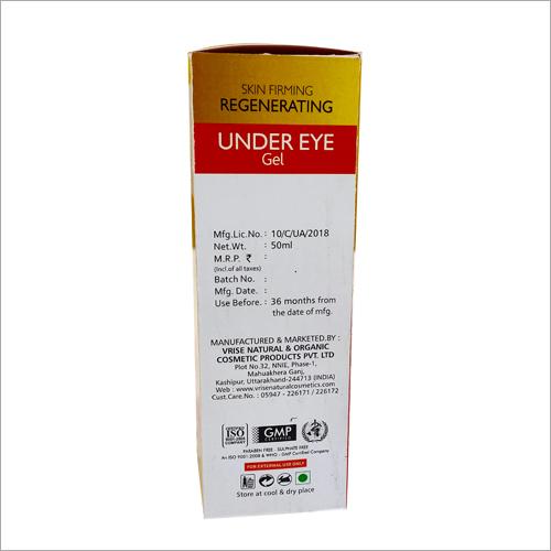 Skin Firming Regenerating Under Eye Gel