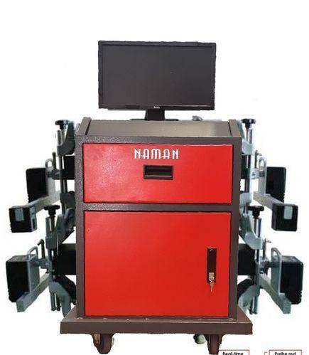 Computerised Wheel Alignment Machine