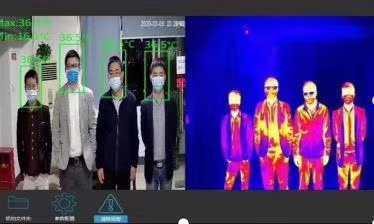 Fever Screen Thermal & Optical Bi-spectrum Network Bullet Camera