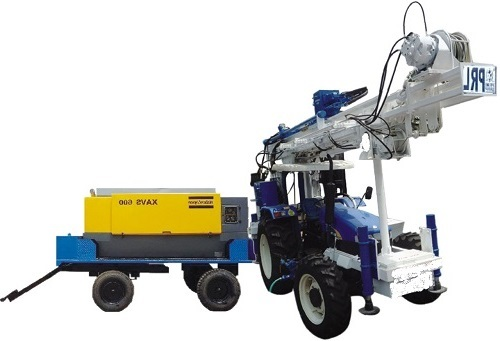 PRL tractor mounted water well drilling rig