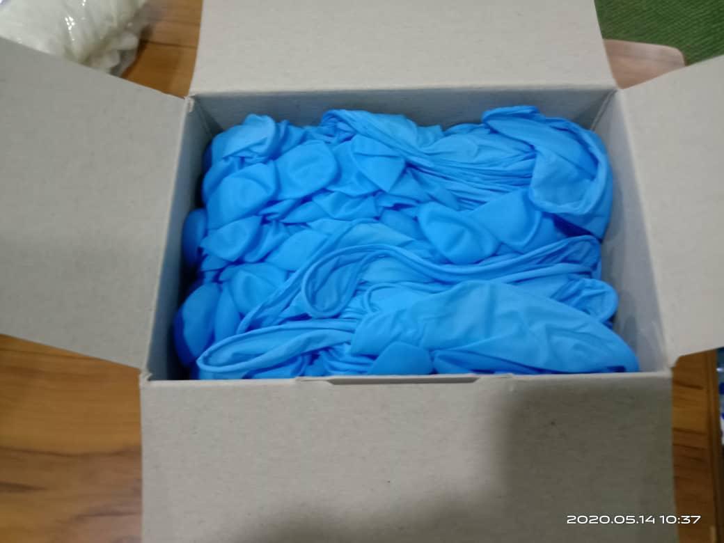 Nitrile glove powder free