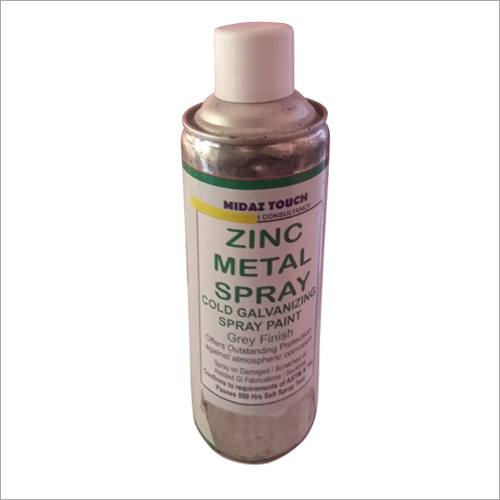Zinc Metal Spray Cold Galvanizing Spray Paint