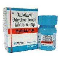 Mydekla 60 Tablet (Daclatasvir (60mg) - Mylan Pharmaceuticals Pvt Ltd)