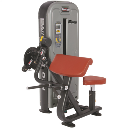 Gym Single Station Biceps & Triceps Press
