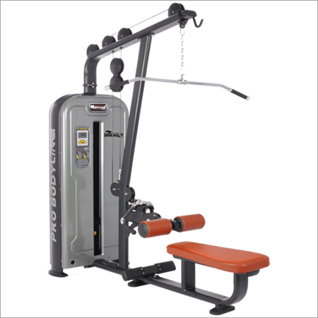 Single Station Gym Lat Pull Down Seated Row