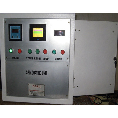 Spin Coating Systems & Manual and Microprocessor controlled