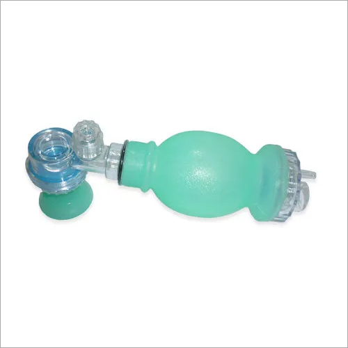 Silicone Resuscitator Bag