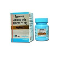 Hepbest Tablet (Tenofovir disoproxil fumarate (300mg) - Mylan Pharmaceuticals Pvt Ltd)