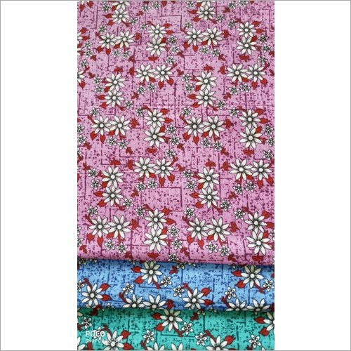 Floral Cotton Suit Fabric
