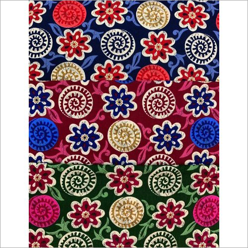 Designer Cotton Nighty Fabric