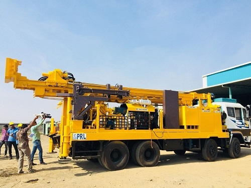 indian rotary drillingt rig dthr 450