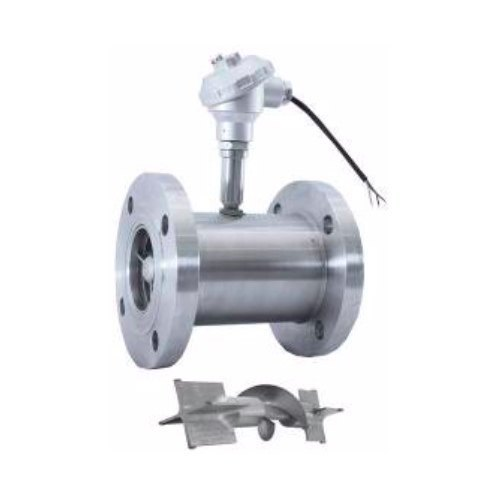Helical Rotor Flow Sensor And Meter
