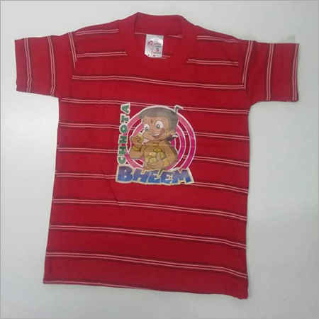 Kids Cartoon Printed T Shirt