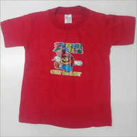Kids Red Color T Shirt