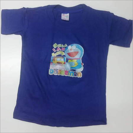 Kids Blue Casual T Shirt