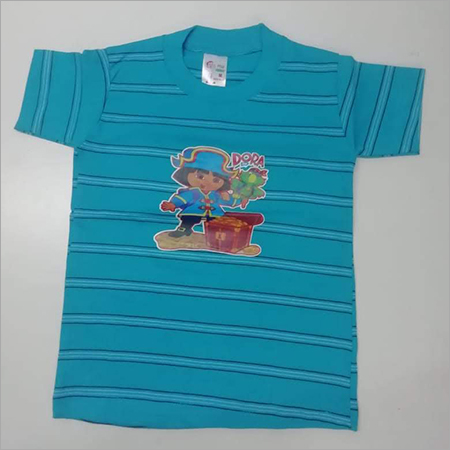 Kids Casual Round Neck T Shirt