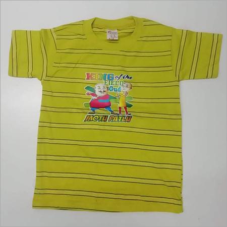 Kids Half Sleeves Casual T Shirt