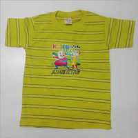 Kids Half Sleeves Casual T Shirt