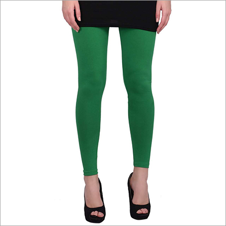 Dark Green Color Leggings