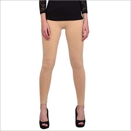 Brown Color Plain Leggings