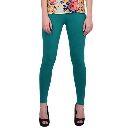 Ladies Dark Green Leggings