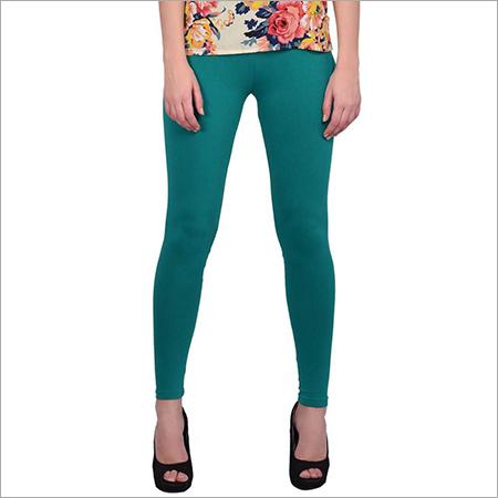 Ladies Dark Green Leggings