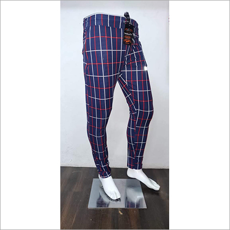 Mens Check Lower