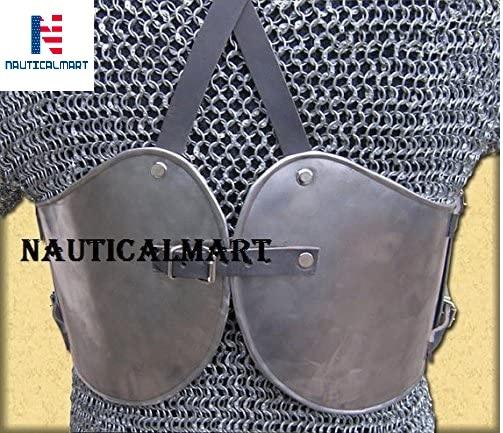 NauticalMart Steel Breastplate Knight Armor Medieval Costume Battle Ready