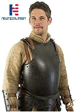 Armor Breastplate Dark Warrior - Epic Dark Large - Grey Armour