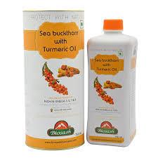 SEA BUCKTHORN TURMERIC OIL JUICE