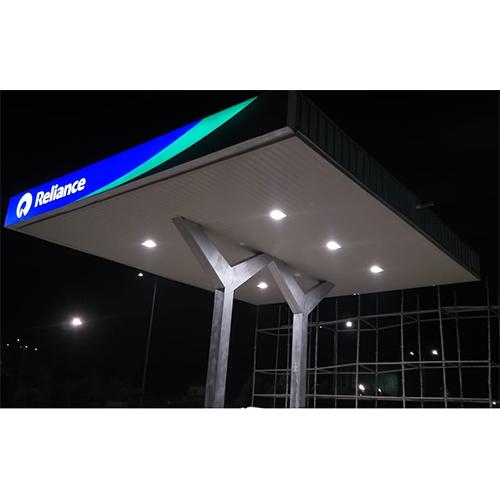 LED Canopy For Petrol Pump