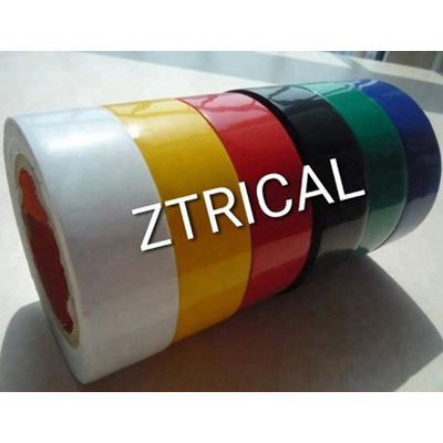 Glossy Shine Finish PVC Insulation Electrical Tape