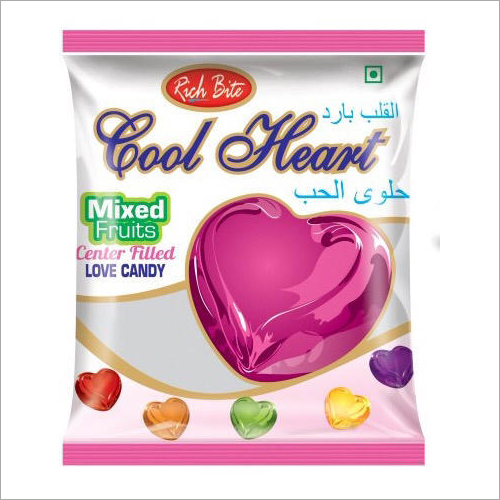 Cool Heart Pouch Candies