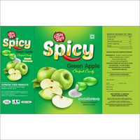 Spicy Green Apple Candies