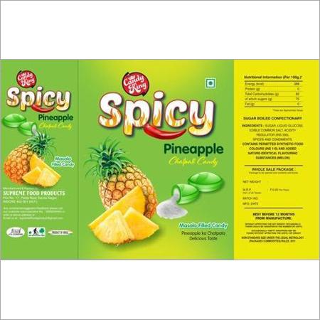 Pineapple Tadka Candies