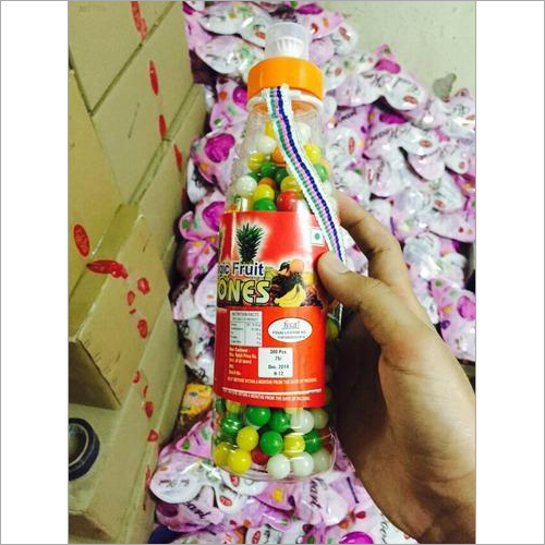 Water Bottle Fruit Balls Premium Candies