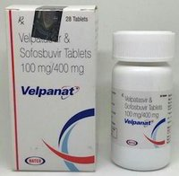 Velpanat Tablet (Sofosbuvir (400mg) + Velpatasvir (100mg) - Natco Pharma Ltd)