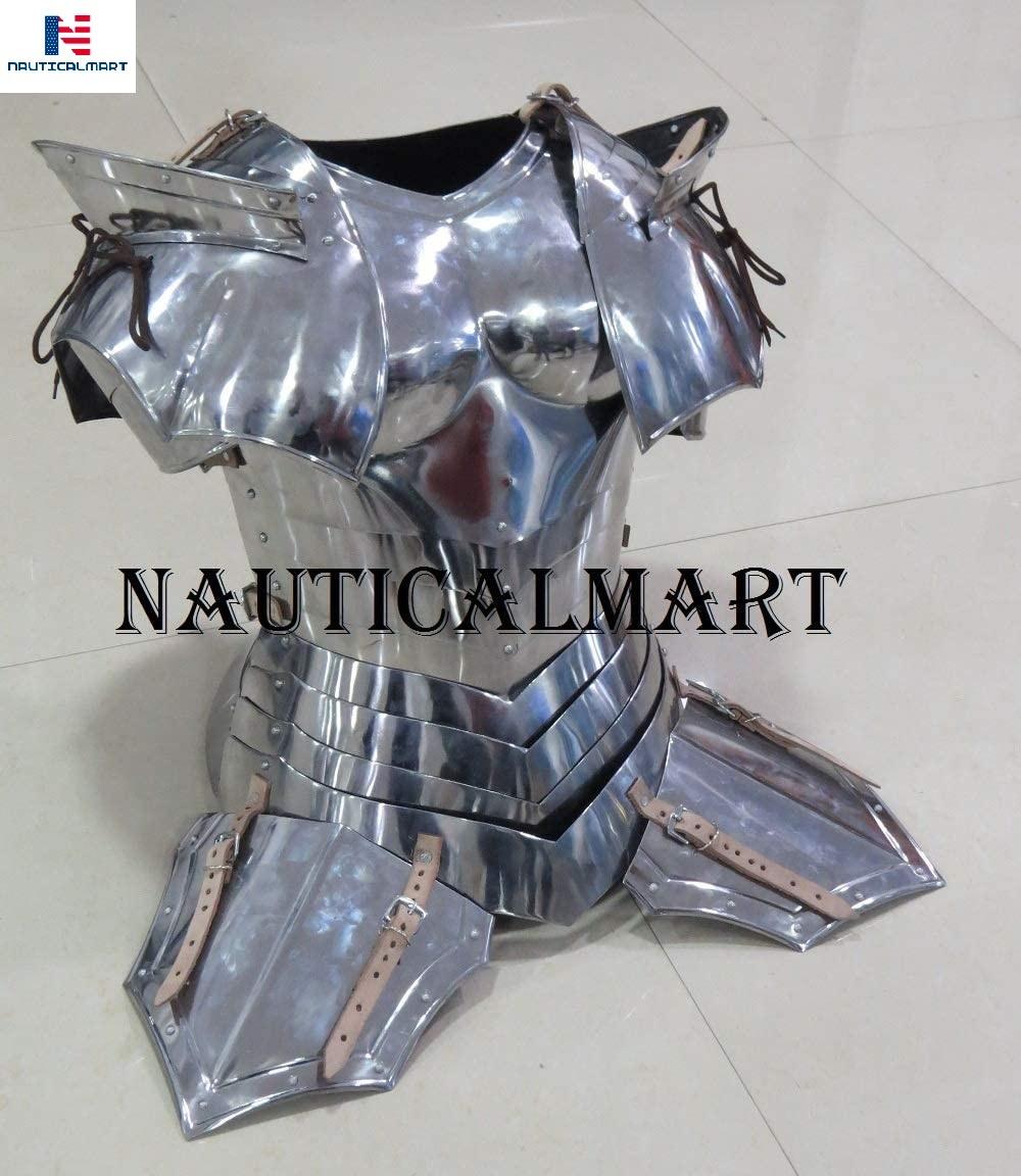 NauticalMart LARP Armor Fantasy Medieval Costume Armor Steel Armour Breastplate
