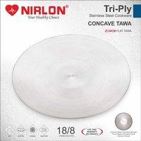 26cm Nirlon Tri Ply Stainless Steel Tawa