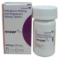 Resof Total 400mg/100mg Tablet (Sofosbuvir (400mg) + Velpatasvir (100mg) - Dr Reddy's Laboratories Ltd)