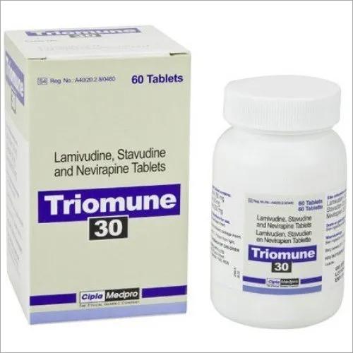 Lamivudine Stavudine & Nevirapine Tablets